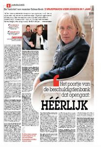 Zaterdag 16 mei 2015 - in Het Laatste Niefs - Erwin Verhoeven -