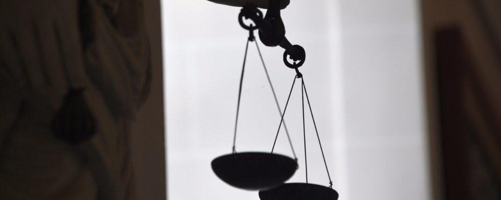 weegschaal Justitia
